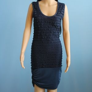 Casting Womens Dress Navy Blue Size S